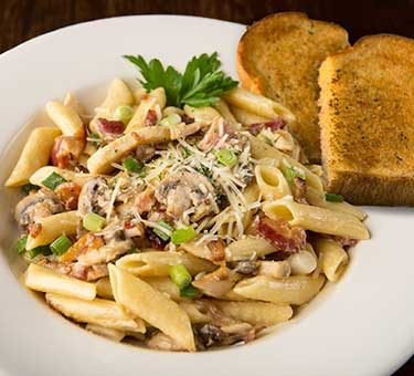 Bacon Cheese Penne